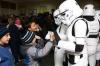 Выборы в столице юмора: Дарт Вейдера не пустили голосовать, а Чубакка задержан полицией