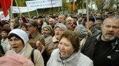 Под Кабмином голодают уже 40 «чернобыльцев»