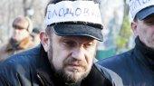 """Для голодающих под Кабмином """"чернобыльцев"""" вызвали скорую помощь"""