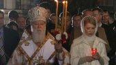 Тимошенко в поздравлении Филарета поблагодарила его за духовную заботу