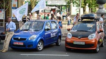 В Киеве прошла выставка экомобилей (ФОТО) | Автоновости | Дело