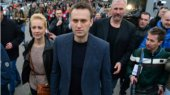 В Москве прошел марш в поддержку Навального в борбе за пост мэра