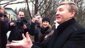 Ахметов пообщался с митингующими у его дома