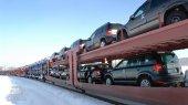 Число импортируемых в Украину машин упало на 56%
