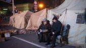 В Киеве приступили к демонтажу палаток на Майдане