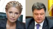 Тимошенко поздравила Порошенко с победой и пообещала помощь