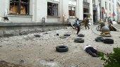 Взрыв в Луганской обладминистрации устроили боевики — генерал ВС Украины