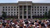 В Одессе почтили память погибших 2 мая в Доме профсоюзов