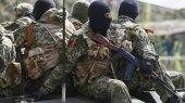 Боевики из двора церкви ведут огонь по позициям силовиков в Славянске