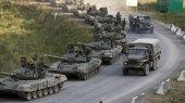 В Донецкой области — колонны российских грузовиков и танков (ВИДЕО)