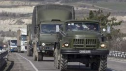 Колонна российской бронетехники направилась к Молодогвардейску | Регионы | Дело