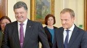 Порошенко и Туск обсудили польско-украинское сотрудничество