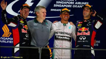 Гран При Сингапура: Труимф Хэмилтона | Автоспорт | Дело