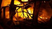 В Киеве начался пожар рядом с киностудией Довженко (обновлено)