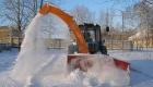 КГГА будет штрафовать предприятия за неубранный снег
