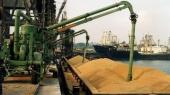 Перевалка зерновых в портах Украины выросла на 45%