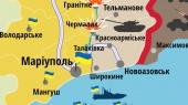 Боевики обстреливают позиции возле Мариуполя