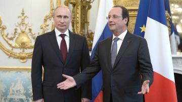 Олланд намерен встретиться с Путином и обсудить конфликт в Украине