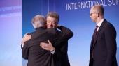 Порошенко, Яценюк и Юнкер открыли конференцию Support for Ukraine