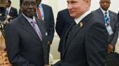 Путин видит Африку в ряду своих союзников