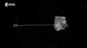 Европейское космическое агентство запустило проект по сбору мусора на орбите Земли
