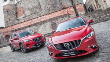 Тест-драйв Mazda 6 и Mazda CX-5 после рестайлинга   Тест-драйвы   Дело