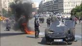 Uber приостановил работу во Франции