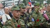 Более половины россиян поддерживают участие граждан РФ в войне на Донбассе — соцопрос