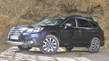 Тест-драйв Subaru Outback: Один в поле воин   Тест-драйвы   Дело