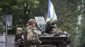В воскресенье вечером боевики усилили обстрелы сил АТО