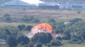 В Британии на авиашоу разбился истребитель, 7 человек погибли (видео)
