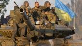 """Боевики """"поздравили"""" наших воинов с Днем Независимости стрельбой из танков и минометов — штаб АТО"""