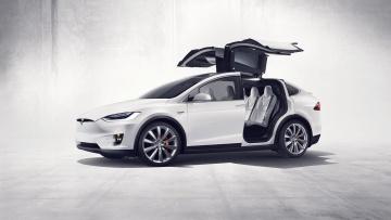 Tesla представила кроссовер Model X | Автоновости | Дело