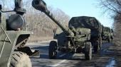 Украинская сторона отводит пушки от линии соприкосновения