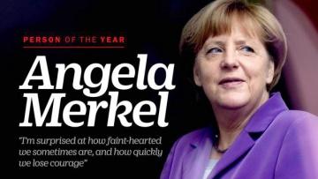 Меркель стала человеком года по версии Time   Политика   Дело