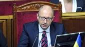 Яценюк просит три часа для отчета за год