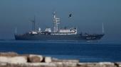 Российский военный корабль открыл огонь по турецкому судну в Эгейском море