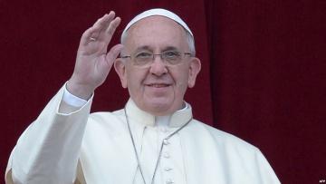 Папа Римский пожелал Украине мира | Общество | Дело