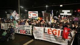 В Лейпциге прошел марш против мигрантов   Общество   Дело