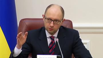 Совет финансовой стабильности рассмотрит ситуацию с курсом гривни — Яценюк   Валюта   Дело