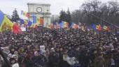В Молдове проходит антиправительственный митинг (ФОТО)
