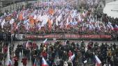 В Москве проходит марш в память Бориса Немцова