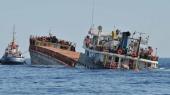 У берегов Турции затонул корабль с мигрантами
