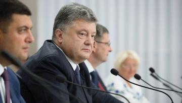 Запад требует от Порошенко провести выборы в