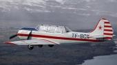 В России разбился учебный самолет
