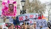 В Лондоне демонстранты требовали отставки Кэмерона