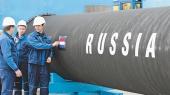 Цены на российский газ упали на 56% за год