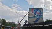 В Киеве появился новый мурал