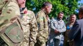 Духовная мощь украинской армии: военные капелланы помолились за мир и победу (фото)
