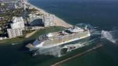 Самый большой в мире круизный лайнер стоимостью $1 млрд вышел в первый рейс